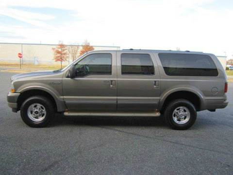 2002 Ford Excursion for sale at Platinum Auto World in Fredericksburg VA