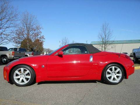 2004 Nissan 350Z for sale at Platinum Auto World in Fredericksburg VA