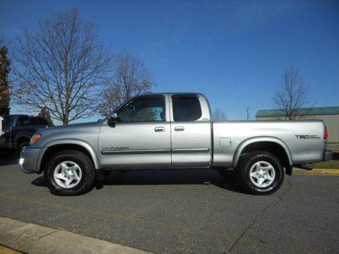 2003 Toyota Tundra for sale at Platinum Auto World in Fredericksburg VA