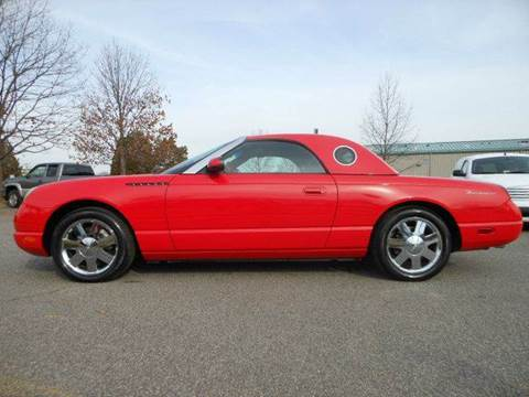 2002 Ford Thunderbird for sale at Platinum Auto World in Fredericksburg VA