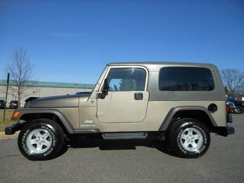 2005 Jeep Wrangler for sale at Platinum Auto World in Fredericksburg VA