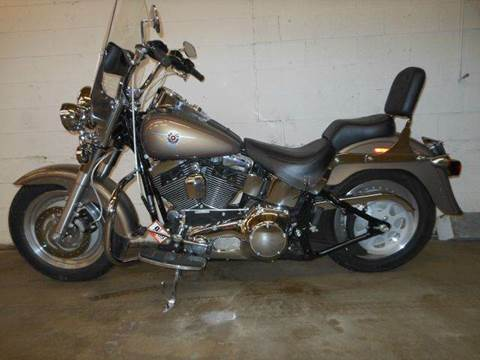 2004 Harley-Davidson FLSTFI FATBOY for sale at Platinum Auto World in Fredericksburg VA