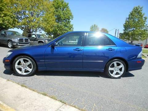 2001 Lexus IS 300 for sale at Platinum Auto World in Fredericksburg VA