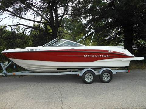 2011 Bayliner 235 BR for sale at Platinum Auto World in Fredericksburg VA