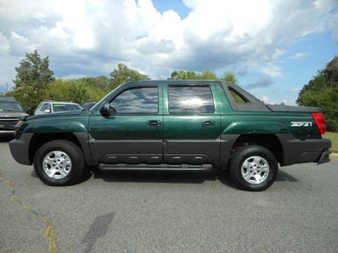 2003 Chevrolet Avalanche for sale at Platinum Auto World in Fredericksburg VA