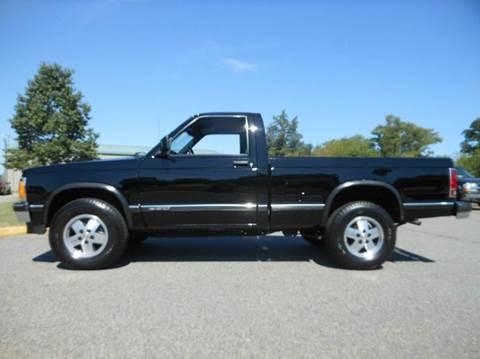 1991 Chevrolet S-10 for sale at Platinum Auto World in Fredericksburg VA