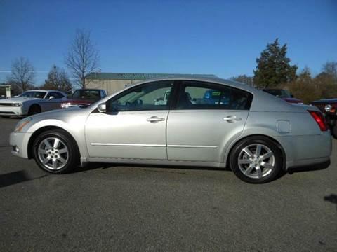2004 Nissan Maxima for sale at Platinum Auto World in Fredericksburg VA