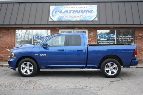 2014 RAM Ram Pickup 1500 for sale at Platinum Auto World in Fredericksburg VA