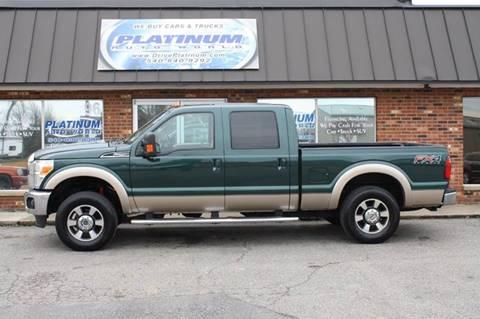 2012 Ford F-250 Super Duty for sale at Platinum Auto World in Fredericksburg VA