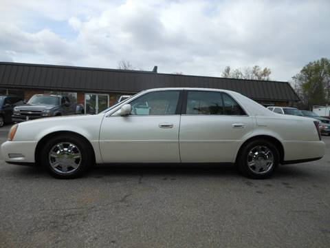 2003 Cadillac DeVille for sale at Platinum Auto World in Fredericksburg VA