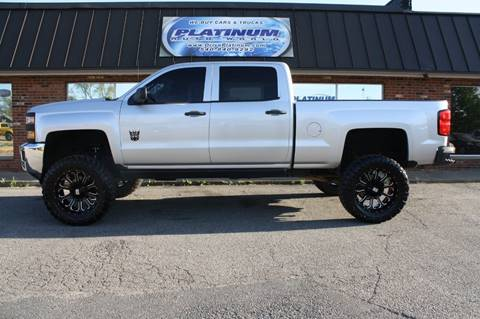 2015 Chevrolet Silverado 2500HD for sale at Platinum Auto World in Fredericksburg VA