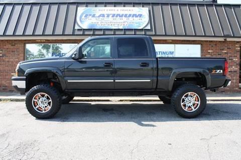 2005 Chevrolet Silverado 1500 for sale at Platinum Auto World in Fredericksburg VA