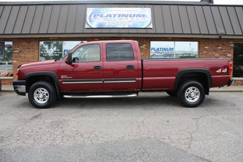 2007 Chevrolet Silverado 2500HD Classic for sale at Platinum Auto World in Fredericksburg VA