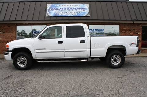 2006 GMC Sierra 2500HD for sale at Platinum Auto World in Fredericksburg VA