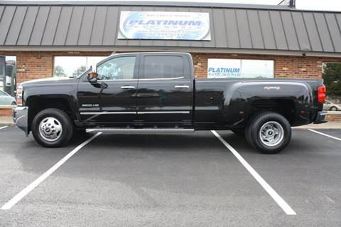 2015 Chevrolet Silverado 3500HD for sale at Platinum Auto World in Fredericksburg VA