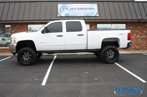 2013 Chevrolet Silverado 2500HD for sale at Platinum Auto World in Fredericksburg VA