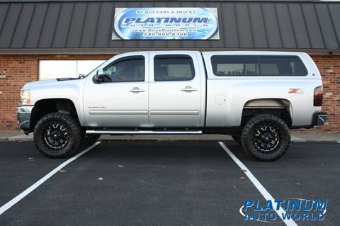 2011 Chevrolet Silverado 2500HD for sale at Platinum Auto World in Fredericksburg VA