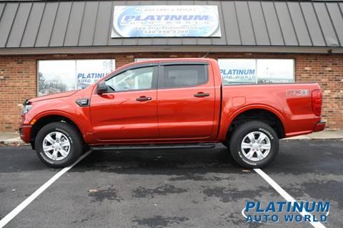2019 Ford Ranger for sale at Platinum Auto World in Fredericksburg VA