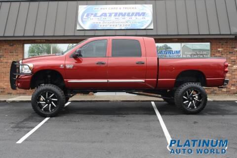 2007 Dodge Ram Pickup 2500 for sale at Platinum Auto World in Fredericksburg VA