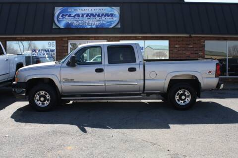 2004 Chevrolet Silverado 2500HD for sale at Platinum Auto World in Fredericksburg VA