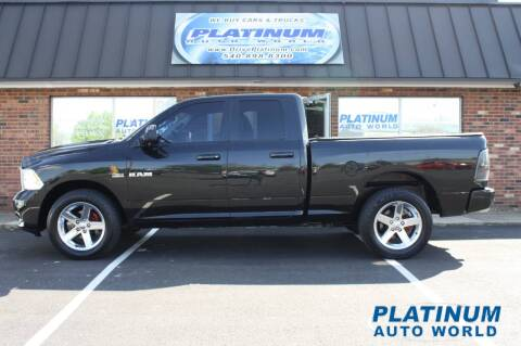 2010 Dodge Ram Pickup 1500 for sale at Platinum Auto World in Fredericksburg VA