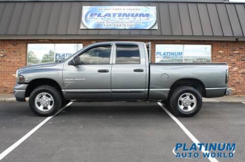 2005 Dodge Ram Pickup 2500 for sale at Platinum Auto World in Fredericksburg VA