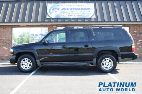 2005 Chevrolet Suburban for sale at Platinum Auto World in Fredericksburg VA