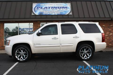 2008 Chevrolet Tahoe for sale at Platinum Auto World in Fredericksburg VA