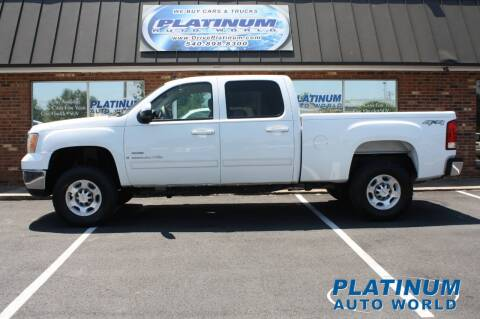 2007 GMC Sierra 2500HD for sale at Platinum Auto World in Fredericksburg VA