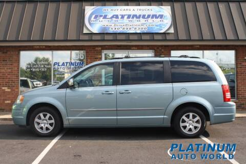 2010 Chrysler Town and Country for sale at Platinum Auto World in Fredericksburg VA