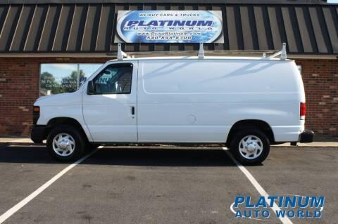 2012 Ford E-Series Cargo for sale at Platinum Auto World in Fredericksburg VA