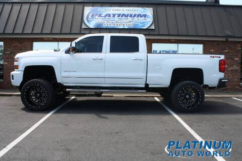 2019 Chevrolet Silverado 2500HD for sale at Platinum Auto World in Fredericksburg VA