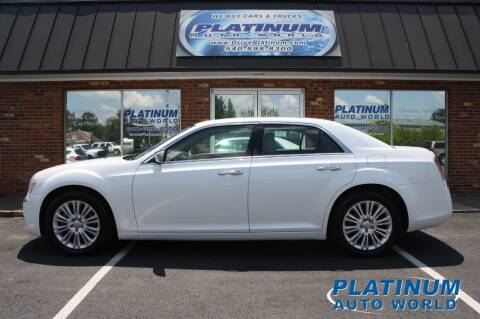 2012 Chrysler 300 for sale at Platinum Auto World in Fredericksburg VA