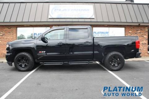2018 Chevrolet Silverado 1500 for sale at Platinum Auto World in Fredericksburg VA