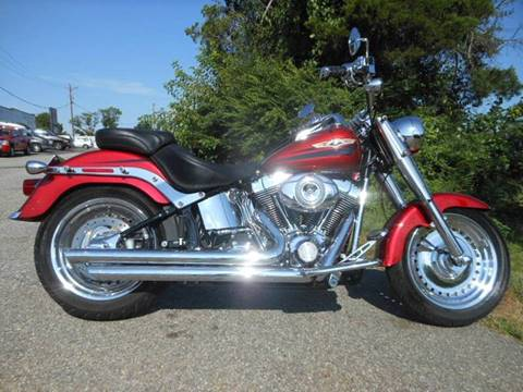 2008 Harley-Davidson FLSTF--FATBOY for sale at Platinum Auto World in Fredericksburg VA