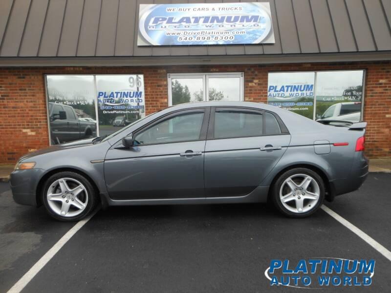 2005 Acura TL for sale at Platinum Auto World in Fredericksburg VA