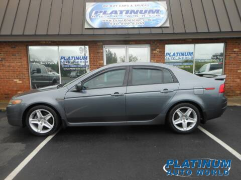 2005 Acura TL for sale at Platinum Auto World in Fredericksburg VA