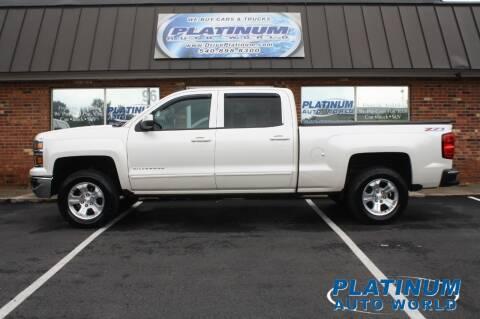 2015 Chevrolet Silverado 1500 for sale at Platinum Auto World in Fredericksburg VA
