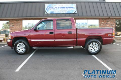 2005 GMC Sierra 1500 for sale at Platinum Auto World in Fredericksburg VA