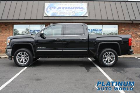 2015 GMC Sierra 1500 for sale at Platinum Auto World in Fredericksburg VA