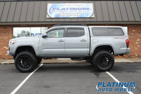 2018 Toyota Tacoma for sale at Platinum Auto World in Fredericksburg VA
