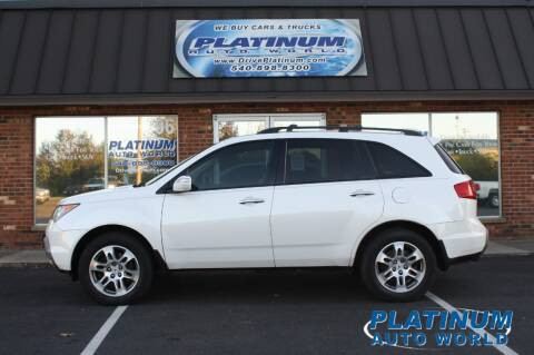 2008 Acura MDX for sale at Platinum Auto World in Fredericksburg VA