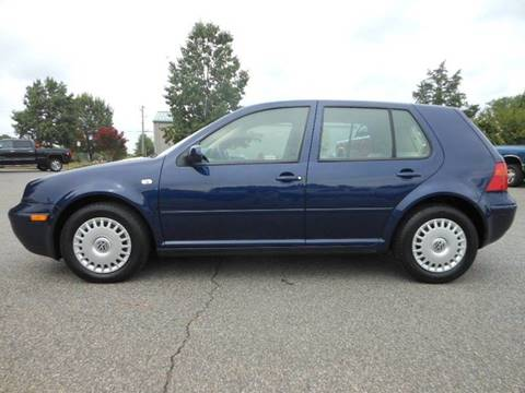 2002 Volkswagen Golf for sale at Platinum Auto World in Fredericksburg VA