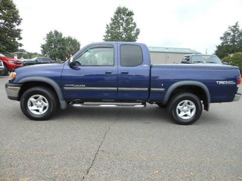 2002 Toyota Tundra for sale at Platinum Auto World in Fredericksburg VA