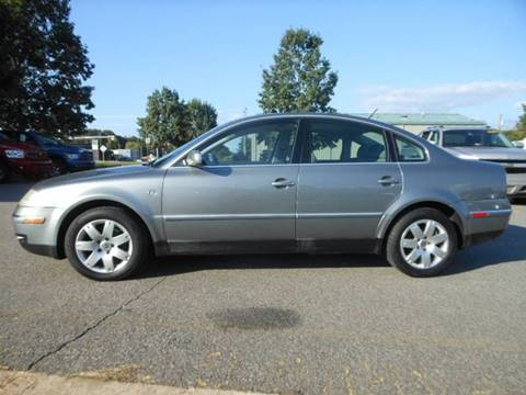 2003 Volkswagen Passat for sale at Platinum Auto World in Fredericksburg VA
