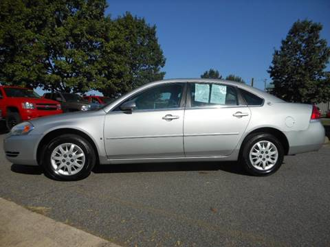 2007 Chevrolet Impala for sale at Platinum Auto World in Fredericksburg VA