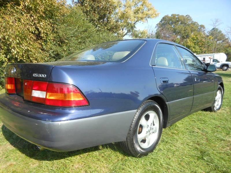 1997 Lexus Es 300 4dr Sedan In Fredericksburg VA - Platinum