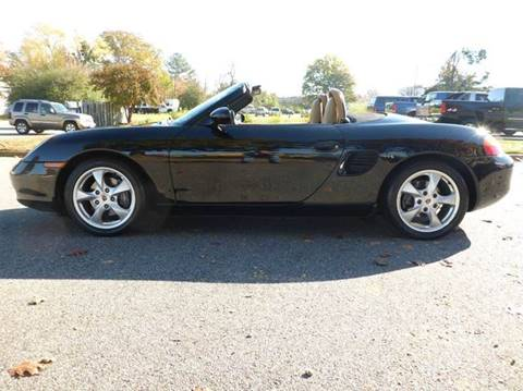 2001 Porsche Boxster for sale at Platinum Auto World in Fredericksburg VA