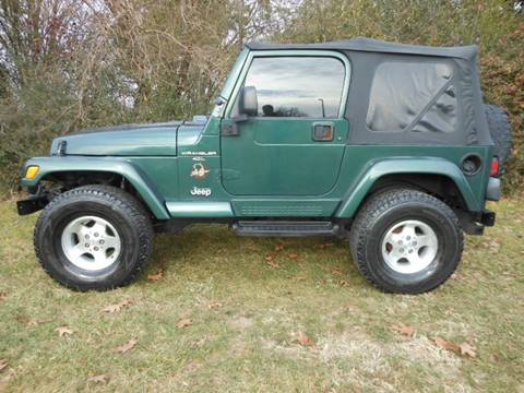 2000 Jeep Wrangler for sale at Platinum Auto World in Fredericksburg VA