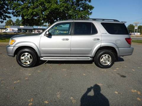 2002 Toyota Sequoia for sale at Platinum Auto World in Fredericksburg VA
